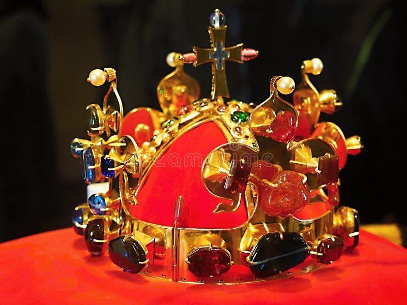 Die Krone Roman Kings wurde für Charles IV hergestellt lizenzfreie stockfotografie