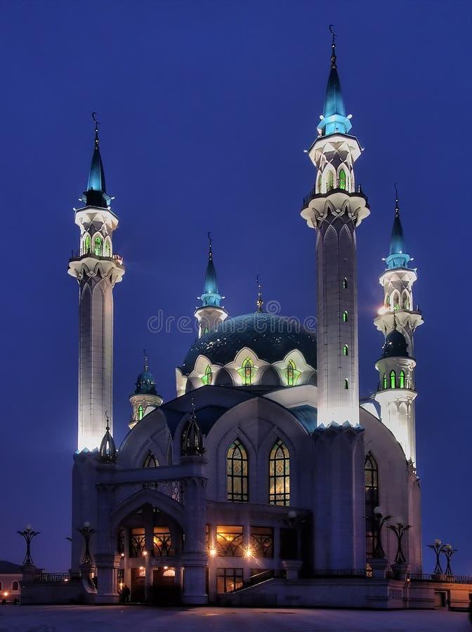 Die Kul Sharif Moschee von Kazan stockfoto
