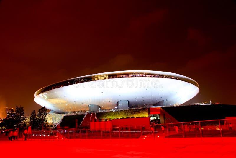 Die Kultur-Mitte an der Weltausstellung in Shanghai stockbilder