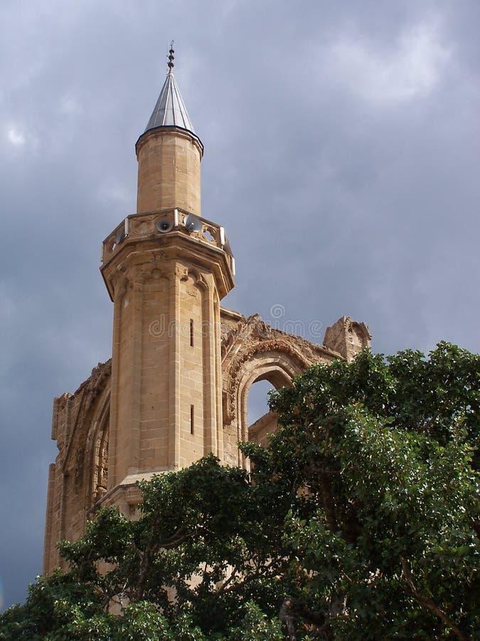 Die Lala Mustafa Pasha-Moschee stockbild