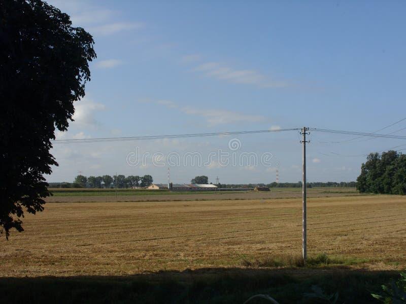 Die landwirtschaftliche Ansicht stockfoto