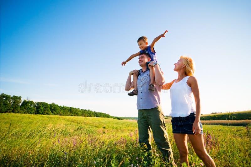 Die Lebensdauer zusammen genießen stockfotografie