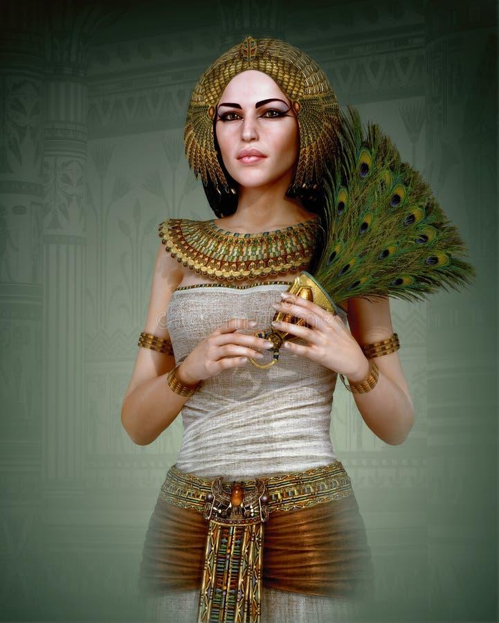 Die letzte Königin, 3d CG vektor abbildung