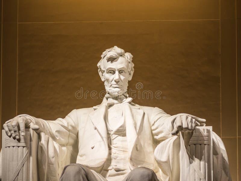 Die Lincoln-Statue stockfotografie
