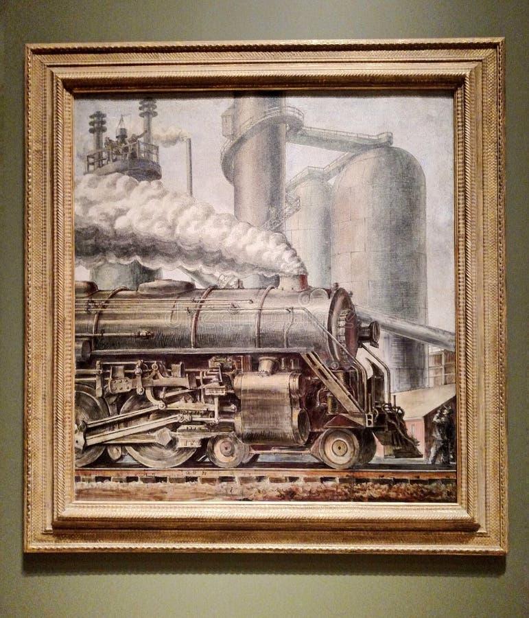 Die Lokomotive lizenzfreies stockfoto