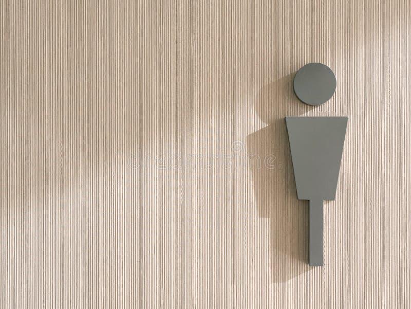 Die männliche Ikone auf Wand lizenzfreies stockfoto