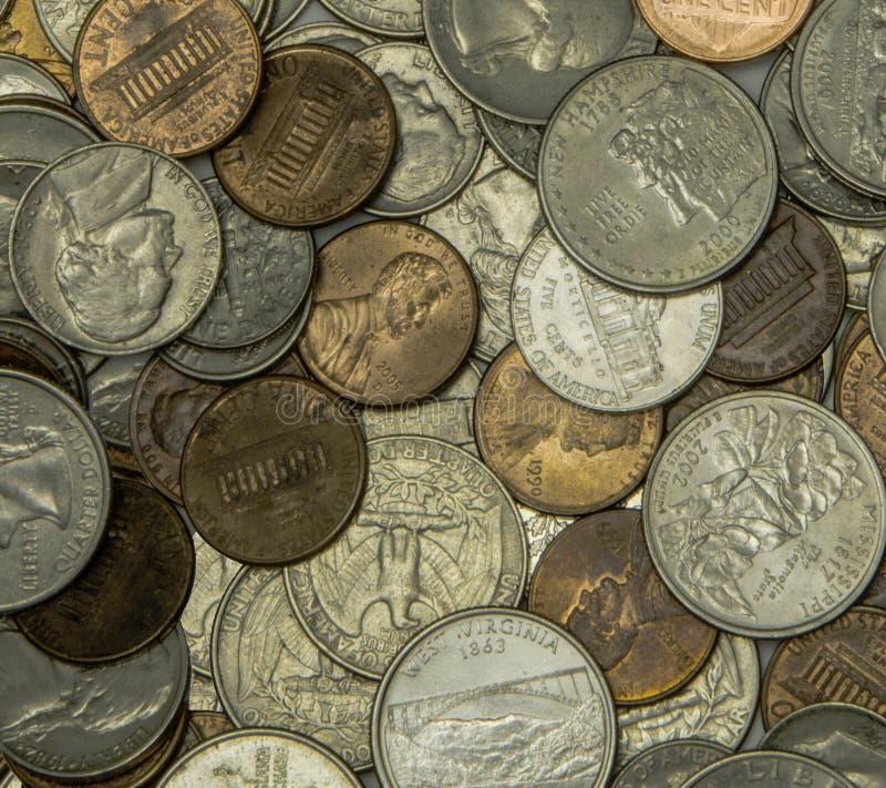 Die Münze der Vereinigten Staaten lizenzfreie stockfotografie