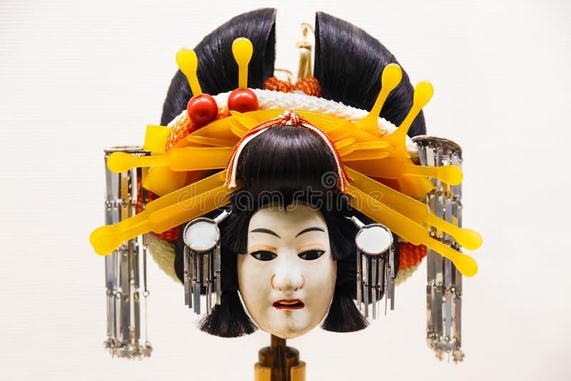 Die Marionette, die in Bunraku verwendete (japanisches Marionetten-Spiel lizenzfreie stockbilder