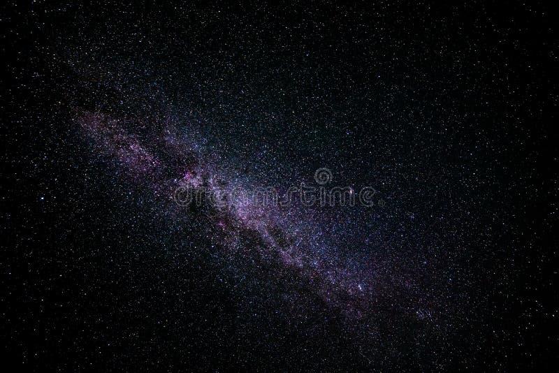 Die Milchstraße lizenzfreie stockfotos