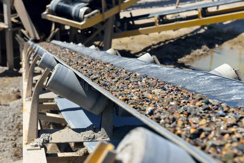 Die Minenindustrie lizenzfreies stockfoto