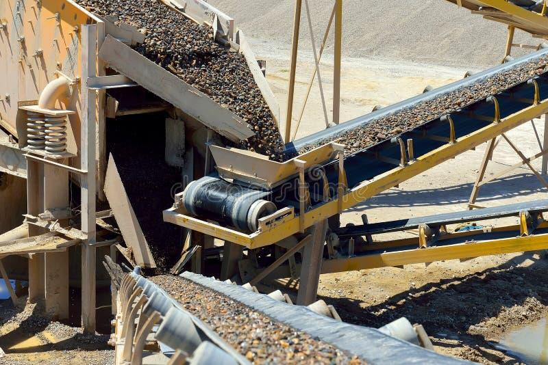 Die Minenindustrie lizenzfreie stockfotos