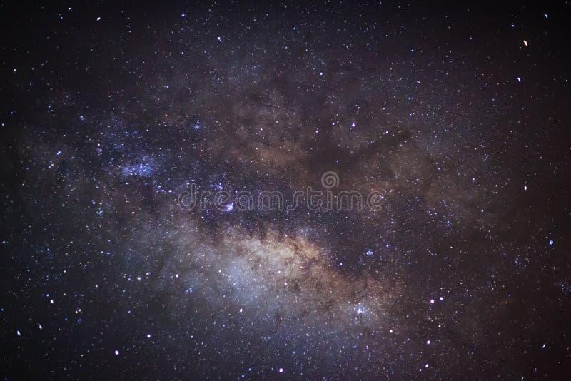 Die Mitte der Milchstraßegalaxie, lange Belichtungsphotographie stockfotos