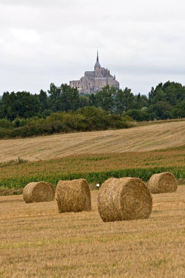Die Montierung Saint-Michel-Abtei lizenzfreies stockfoto