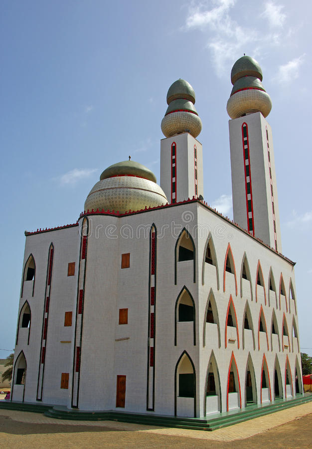 Die Moschee stockbild