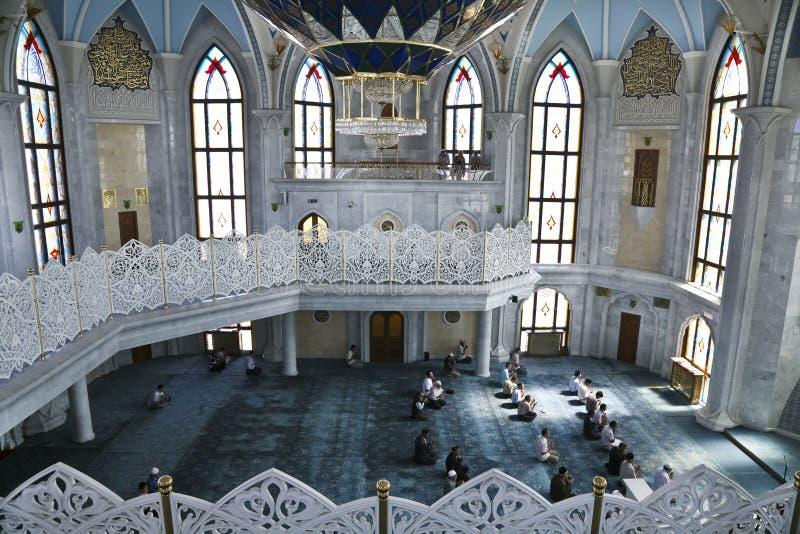 Die Moschee Kul Sharif in Kasan stockfotografie