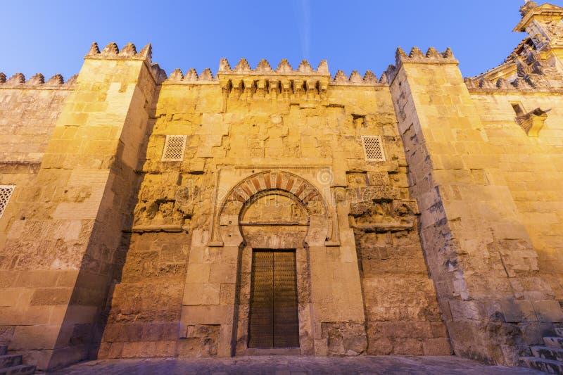 Die Moscheen-Kathedrale von Cordoba lizenzfreie stockbilder