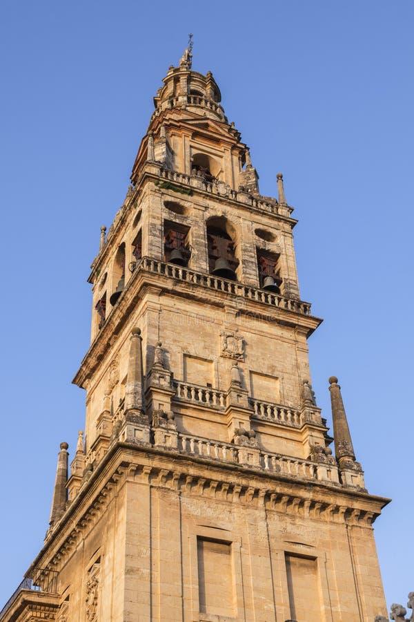 Die Moscheen-Kathedrale von Cordoba stockbild