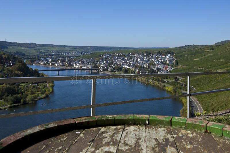 Die Mosel stockfotos