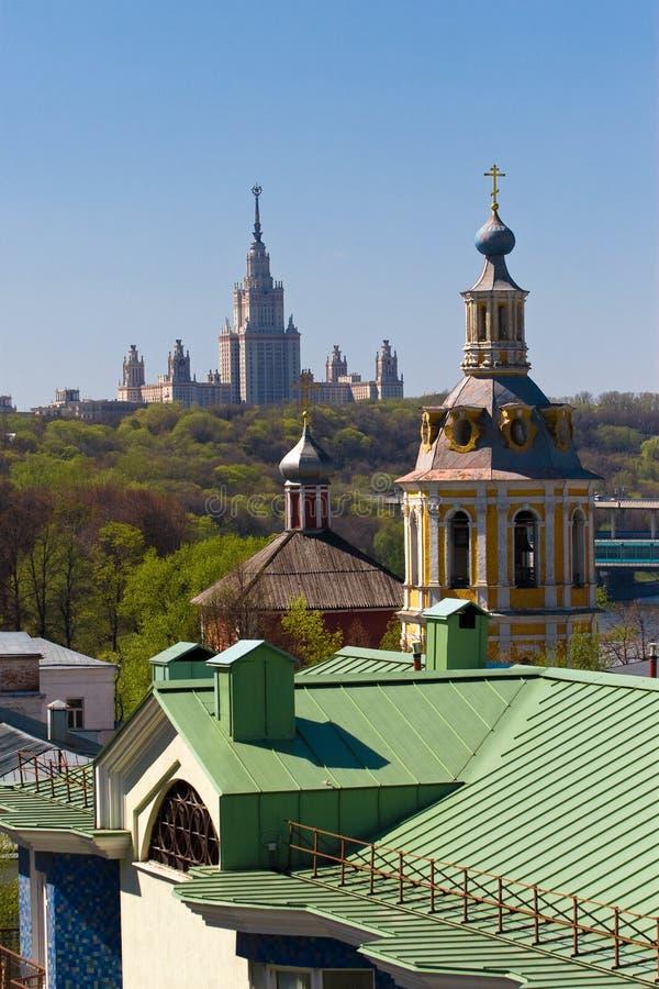 Die Moskau-Landschaft stockfotos