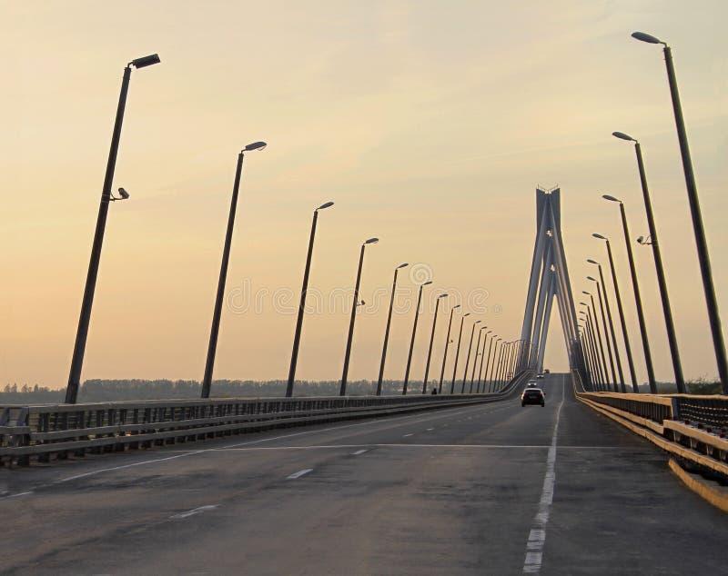 Die Murom Brücke stockbilder