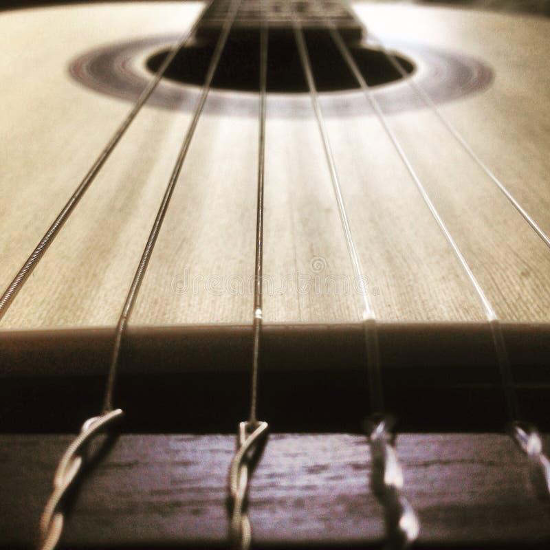 Die Musicalschnüre lizenzfreies stockbild