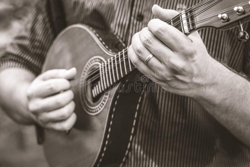 Die Musik und das Herz von Brasilien stockfotos