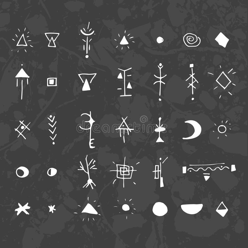 Bedeutung und ihre mystische zeichen Magische Symbole