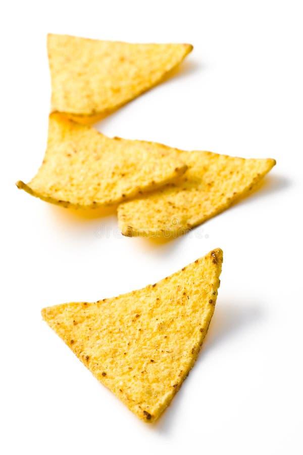 Die Nachoschips stockbilder