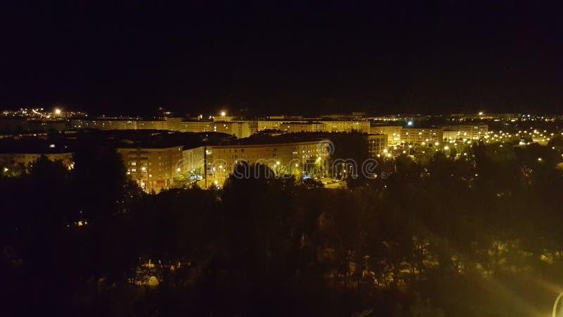 Die Nacht stockbild