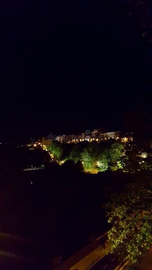 Die Nacht lizenzfreies stockfoto