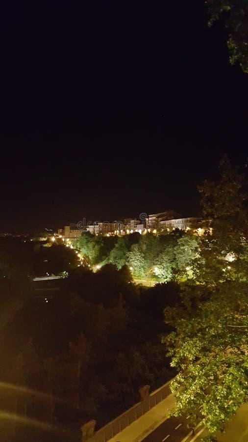 Die Nacht stockfoto