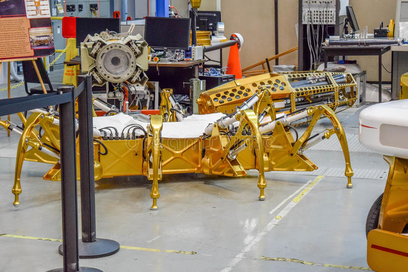 Die NASA-Mond Rover stockfotografie
