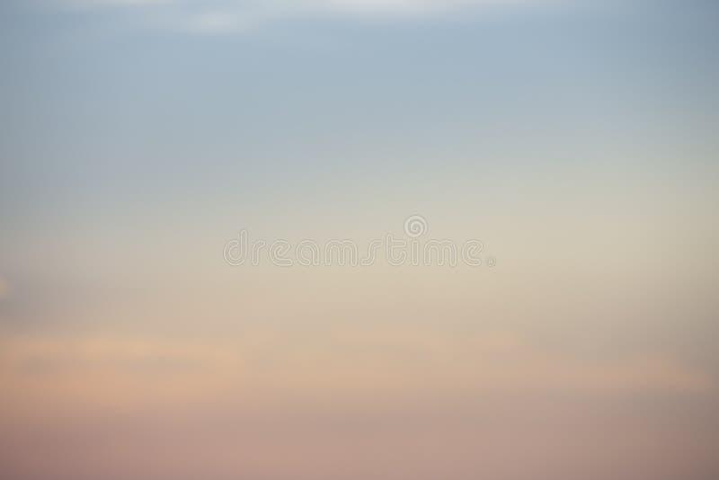 Die natürlichen Farben, die neuen Tag des Himmels für Himmel, das Licht vom Himmel vom Himmel glätten, ist ein Geheimnis, in d lizenzfreie stockfotos