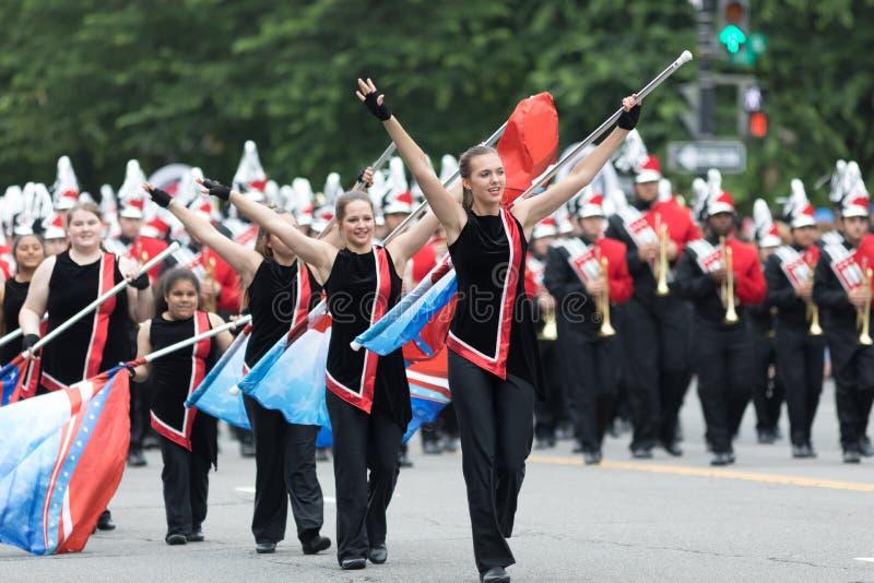 Die nationale Memorial Day -Parade stockbild
