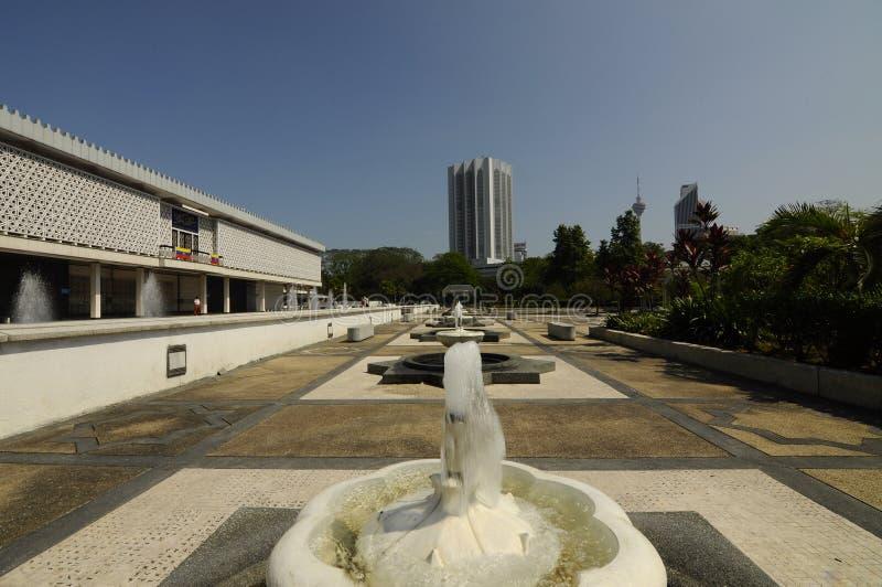 Die nationale Moschee von Malaysia a K ein Masjid Negara lizenzfreies stockfoto