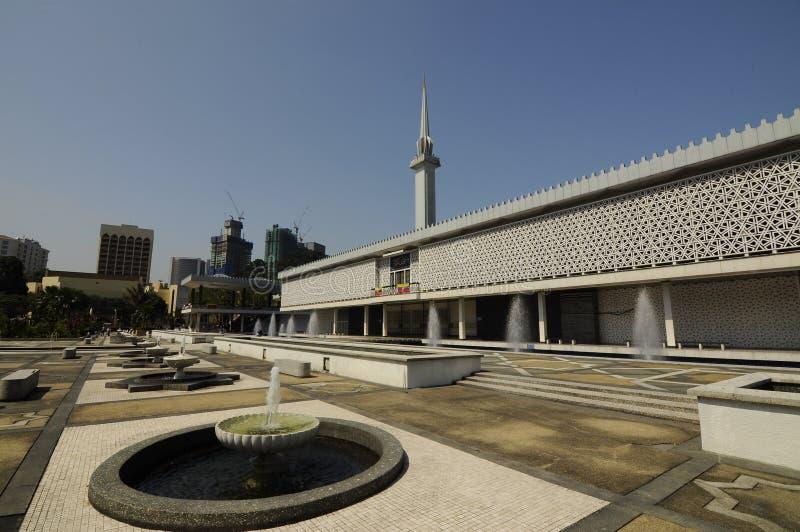 Die nationale Moschee von Malaysia a K ein Masjid Negara stockbilder