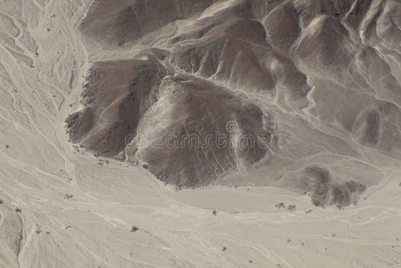 Die Nazca-Linien in Peru lizenzfreies stockfoto