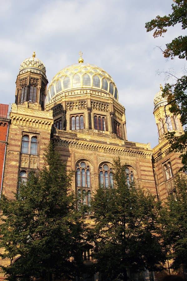 Die neue Berlin-Synagoge lizenzfreie stockfotos