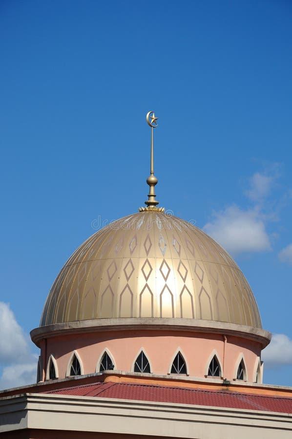 Die neue Moschee von Masjid Jamek Jamiul Ehsan a K ein Masjid Setapak stockfotos