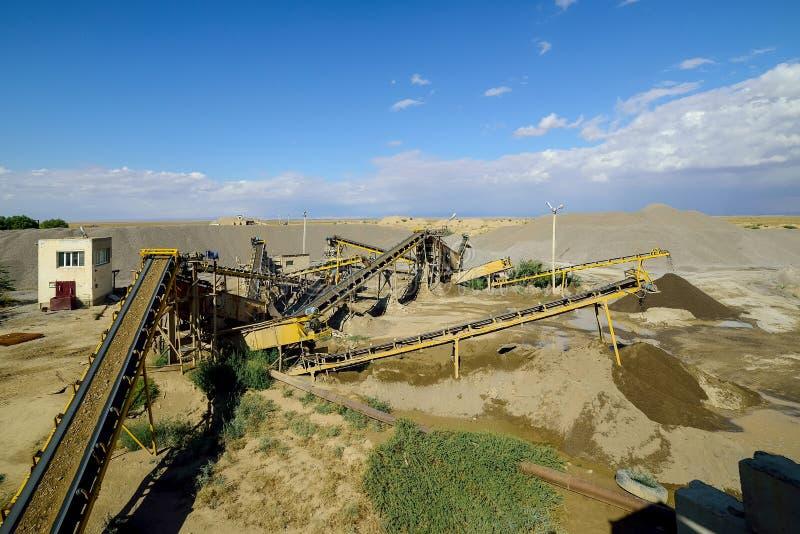Die neueste Bergwerksmaschine lizenzfreies stockfoto