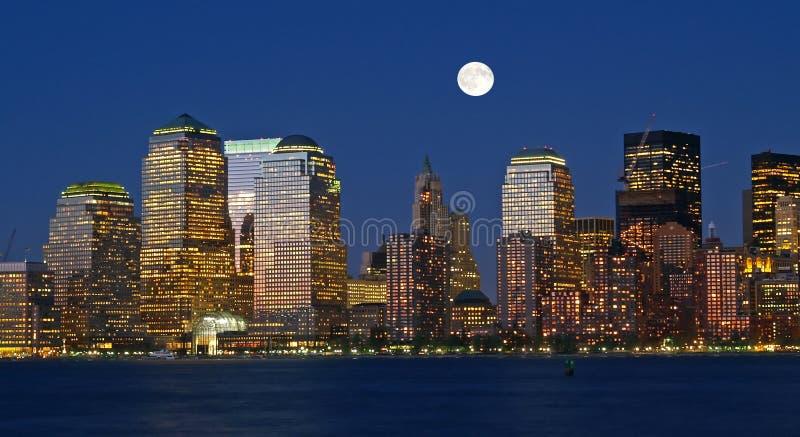 Die New- York CitySkyline lizenzfreies stockbild