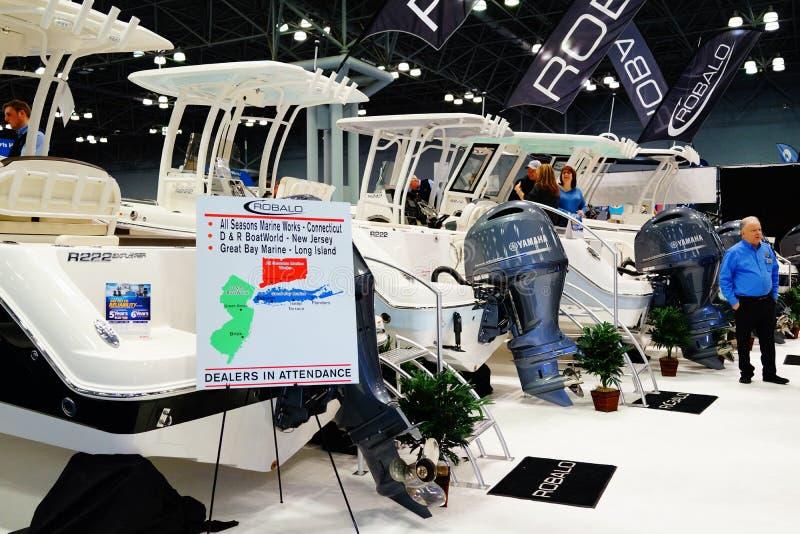 Die New- Yorkboots-Show 2019 81 lizenzfreies stockfoto