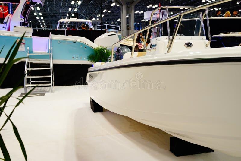 Die New- Yorkboots-Show 2019 77 lizenzfreies stockbild