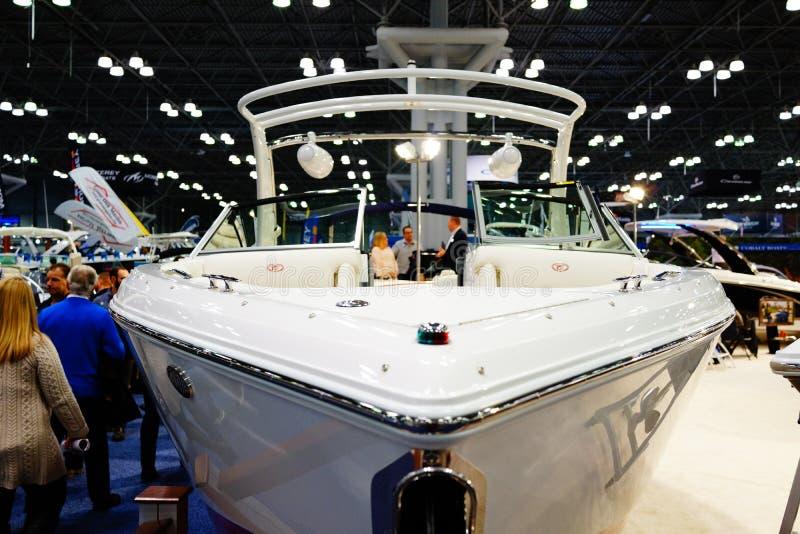 Die New- Yorkboots-Show 2019 73 stockbild