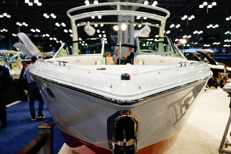 Die New- Yorkboots-Show 2019 72 lizenzfreies stockbild