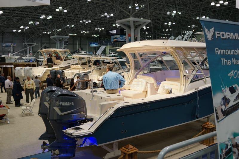 Die New- Yorkboots-Show 2019 15 stockbild
