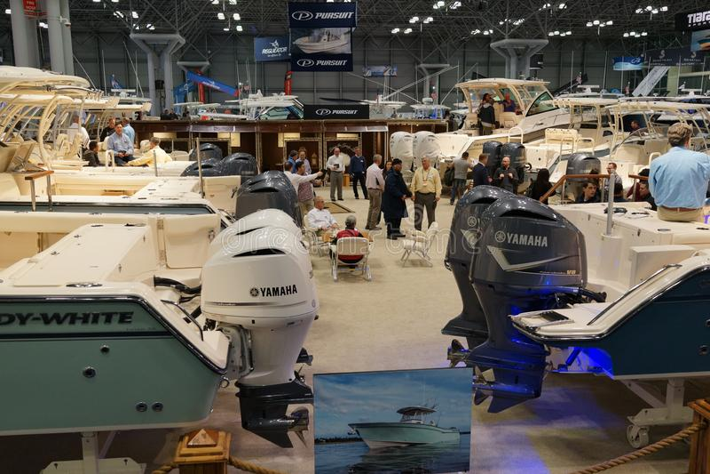 Die New- Yorkboots-Show 2019 14 stockfotos