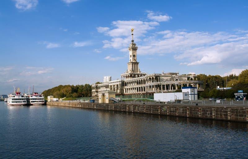 Die Nordflussstation in Moskau lizenzfreie stockfotografie