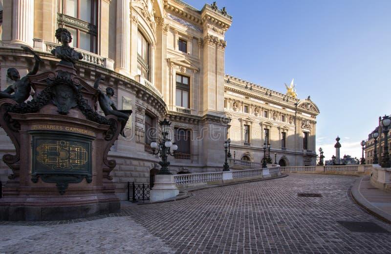 Die Oper Garnier, Paris stockbilder