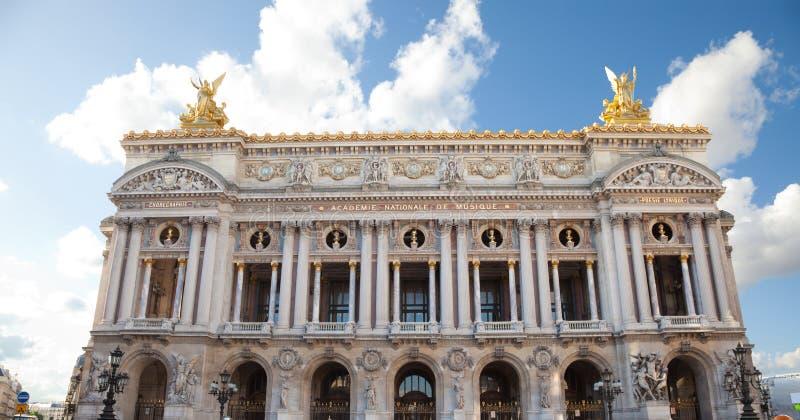 Die Oper von Paris lizenzfreies stockfoto